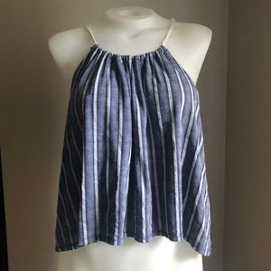 Tops - Cropped Striped Top
